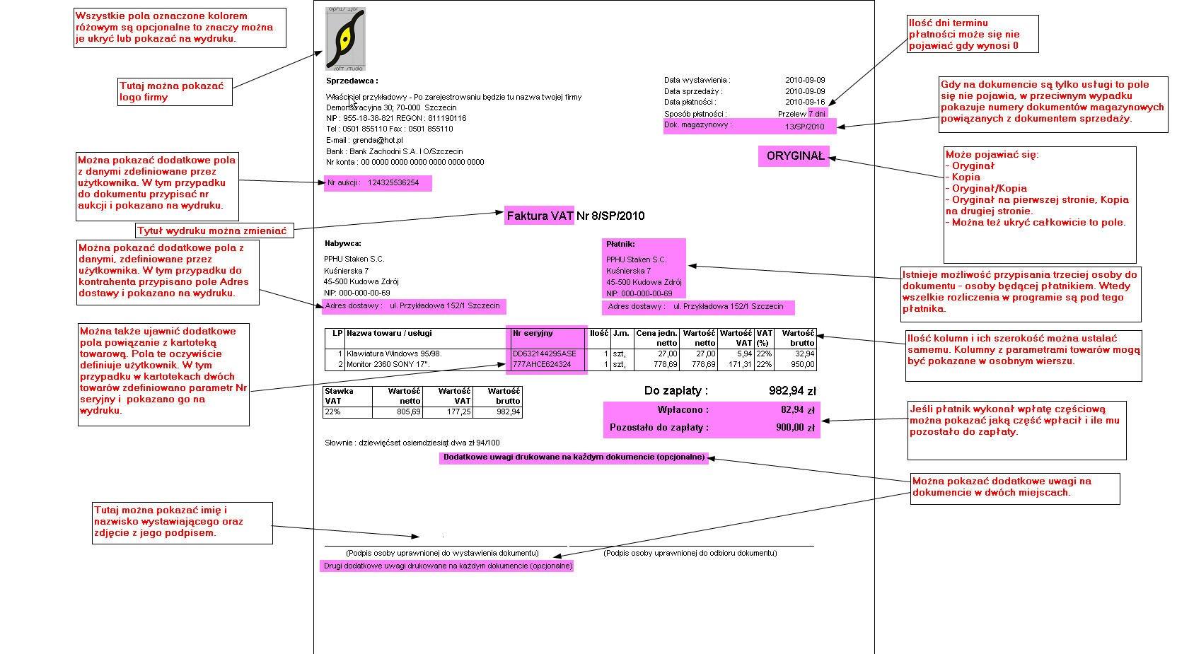 Program Do Fakturowania Ofert I Zamówień System Smart